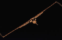 guldindierhalsband Royaltyfria Foton