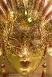 guldlyxmaskering Arkivfoto