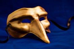 guldmaskering Royaltyfri Bild