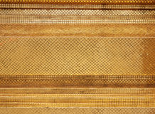 guldmosaikvägg Arkivbild