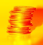 guldpengar Royaltyfri Bild