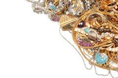 guldsmycken Royaltyfri Bild