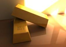Guldstång Arkivfoto
