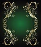 guldstiltappning royaltyfri illustrationer