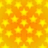 Guldstjärnabakgrund Arkivfoton