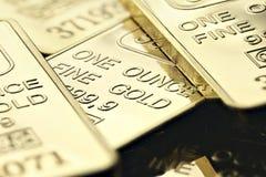 Guldtackor Arkivfoto