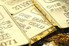 Guldtackor Arkivbilder