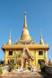 guldtempel thailand Arkivbilder