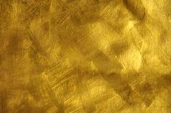 guldtextur Arkivbilder