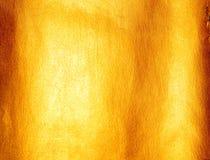 guldtextur Arkivfoto