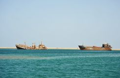 Gulf of Aden Royalty Free Stock Image