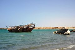 Gulf of Aden Royalty Free Stock Photography