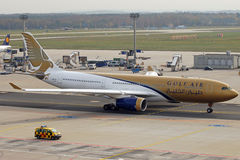 Gulf Air A330 Foto de Stock Royalty Free