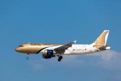 Gulf Air Airbus A320 Fotografía de archivo