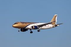 Gulf Air Airbus A320 fotografia stock