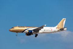 Gulf Air Airbus A320 Stock Photography