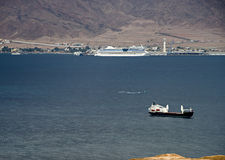 The gulf of Aqaba (Red Sea) Royalty Free Stock Photo