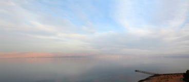 Gulf of Aqaba in soft sunset light Stock Image