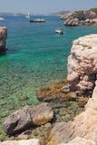 Gulf in bay Cala Xinxell. Palma-de-Mallorca, Spain Royalty Free Stock Photography