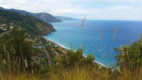 Gulf of Capo Calava at Sicily. At Italy Royalty Free Stock Images