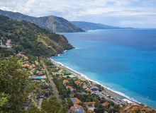 Gulf of Capo Calava at Sicily Royalty Free Stock Photography