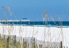 Gulf Coast Beach Stock Photography