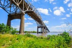 Gulf Coast Bridge Stock Photos