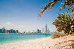 Gulf coast in Dubai Stock Photos