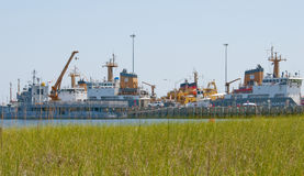 Gulf Coast Oil Spill Response Royalty Free Stock Images