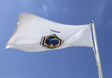 Gulf Cooperation Council flag Royalty Free Stock Photo