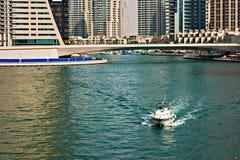 Gulf in Dubai Marina, UAE Royalty Free Stock Photography