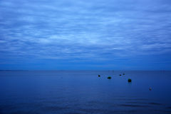 Gulf of Finland at the evening Royalty Free Stock Photo