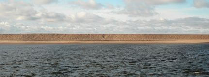 Gulf of Finland panorama Royalty Free Stock Images