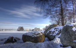 Gulf of Finland, Peterhof, Russia Royalty Free Stock Image