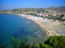 Gulf of Gaeta. Italy, Mediterranean sea Stock Photo