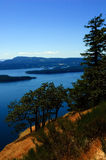 Gulf Islands view Royalty Free Stock Photos