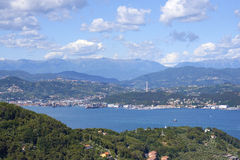 Gulf of la spezia Stock Photo