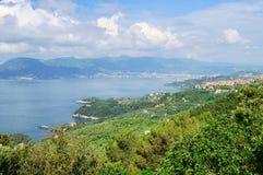 Gulf of La Spezia Royalty Free Stock Photo