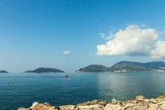 Gulf of La Spezia, Italy. Stock Image