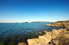 Gulf of La Spezia - Liguria Italy Royalty Free Stock Photos