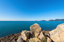 Gulf of La Spezia - Liguria Italy Royalty Free Stock Image