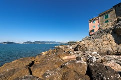 Gulf of La Spezia - Liguria Italy Stock Images