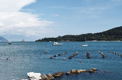 Gulf of la spezia Royalty Free Stock Photos