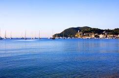 Gulf of Marina di Campo royalty free stock photos