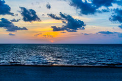Gulf of Mexico Sunrise Royalty Free Stock Photo