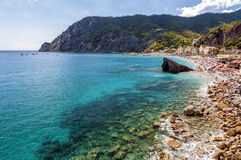 The gulf of Monterosso al Mare, Italy Royalty Free Stock Image