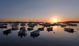 Port blanc harbor Royalty Free Stock Photography