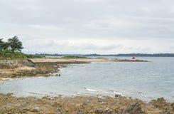 Gulf of Morbihan Stock Image