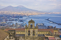 The gulf of naples Royalty Free Stock Photos