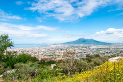Gulf of Naples royalty free stock images